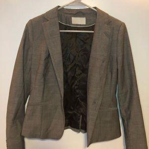 h&m gray blazer